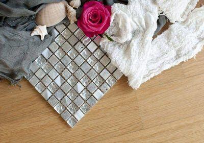 Mosaico bagno bianco