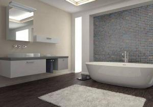Striscia mosaico bagno